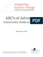 ABC's of Advocacy Guide