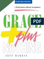 Grace Plus Nothing - Jeff Harkin