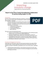 ERFSC Minigrant Report 081515