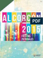 ProgramaFiestas 2015 Alcorcon