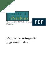Manual de Normas Ortograficas y Gramaticales