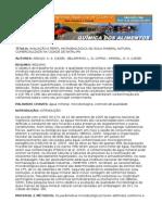 Avaliação Microbiológica de Água Mineral