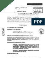 Proyecto de Ley 4749/2015-CR