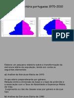 Estrutura Etária Portuguesa 1970-2010