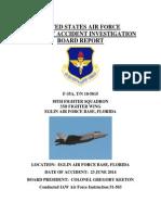 F35 AIB Final Report 17 Mar 15