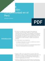 Competitividad en el Perú