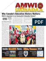 Maamwi Naadamadaa News - Summer, 2015