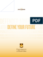 University of Manitoba 2016 Viewbook