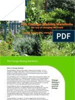 The ChangeMaking Manifesto