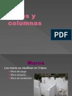 Muros y Columnas