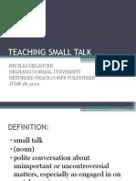 Teaching Small Talk