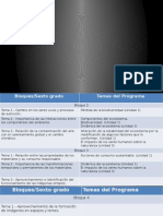 Relacion Programa y Libro de Sexto