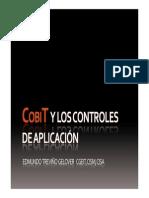 20091206 CobiT y Los Controles de Aplicación