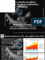 Cambio Climatico Presentación