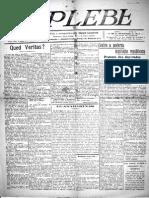 A Plebe - Fase 01 ano 01 n.19 30-10-1917