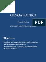 Aula 2 - Discurso Político (Continuação)