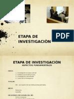 Plazo Judicial Para El Cierre de La Investigacion