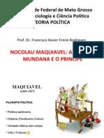 Aula 2 Maquiavel e a Ciencia Politica