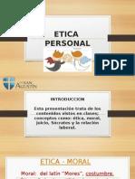 Presentación Etica