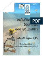 Teknologi Bawah Laut Dalam Industri Minyak