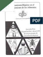 Programa Saneamiento AIB