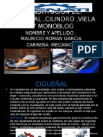 Constitucion de Cigueñal,Piston , Viela , Monoblock ,Cilindro
