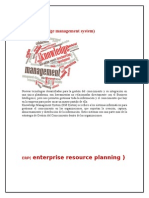 Sistemas de Informacion BI, ERP, SCM, CRM, KMS