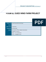 Foum El Oued Wind Farm - VCS Project Description FINAL