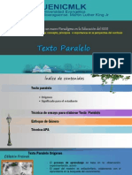 Ideas Sobre Texto Paralelo