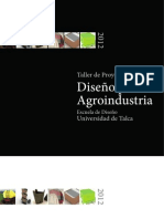 Proyectos de Diseño para la Agroindustria V3