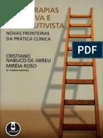 Psicoterapias Cognitiva e Construtivista - ABREU e ROSO