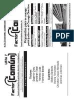 Plataforma Factor Comun
