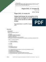 Règles BAEL 91 révisées 99 (DTU P18-702) Fascicule 62