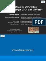 """Presentazione Del Portale """"La Rete Degli URP"""