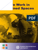 Safe Work in Confined Spaces