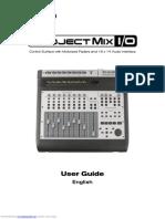 Projectmix Io User Guide