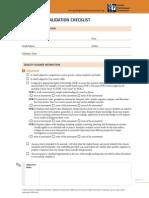 Tool1 Assessment Validation Checklist