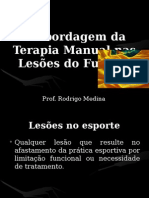 Terapia Manual No Futebol