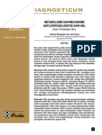 Metabolisme Dan Mekanisme Anti-Aterosklerotik HDL