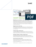 Factsheet SMART Meeting Pro ENG