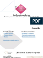 Catalogo de Productos y Promociones Sept-oct 2015