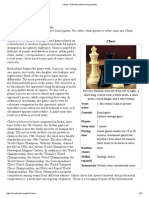 Chess - Wikipedia, The Free Encyclopedia