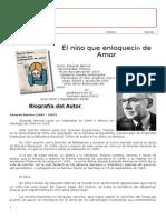 Guia de El Niño Que Enloqueció de Amor