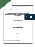 Procedimiento Para Analisis de Esfuerzos y Deformaciones (Extensometria) en Placas Del Fondo y La Envolvente de Tanques de Almacenamiento