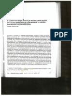 Krell.a Constitucionalidade Da Regulamentação Lei de Consórcios Públicos Decreto Presidencial.2005