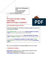FCE CAE Useful Phrases and Tips for Writing Paper15