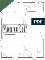 Worksheet - Where was God?