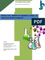 Reporte del conocimiento del Material de un laboratorio