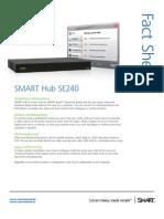 Factsheet SMART Hub SE 240 ENG