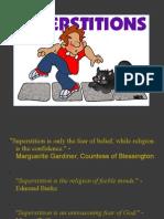 Superstition Power Point Presentation